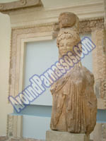 Delphi Museum - Parnassos Greece Delphi Archaeological Museum  CLICK TO ENLARGE IMAGE