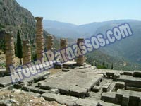 CLICK TO ENLARGE - Delphi Parnassos Greece