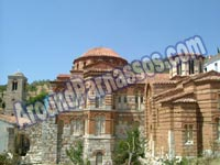 CLICK TO ENLARGE - Osinis Loucas Monastery - Parnassos Greece