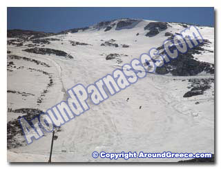 Parnassos Ski Center Greece Delphi Hotels Arahova Accommodation Ski resort Mount Parnassus